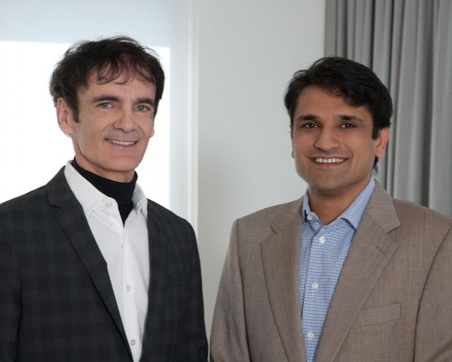 Dr. Ashish Bhalla und Dr. Christian F. Wolf