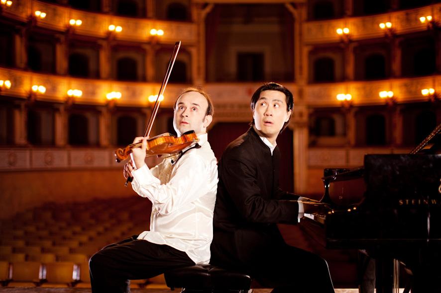 Aleksey Igudesman und Hyung-ki Joo